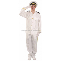Factory hot sale ship captain costume
