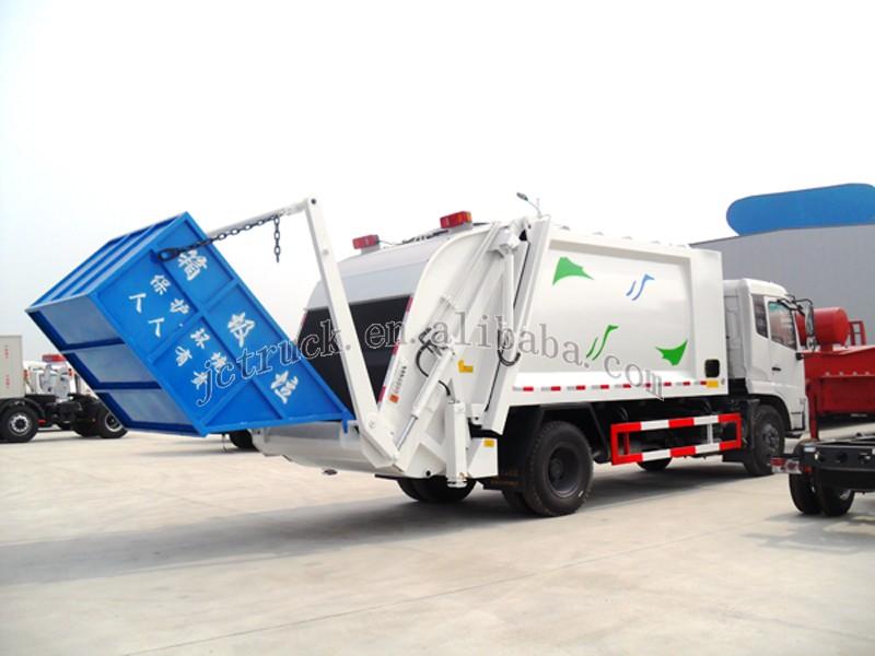 Garbage Truck Power Wheels : Power wheel donfeng cubic garbage compactor truck