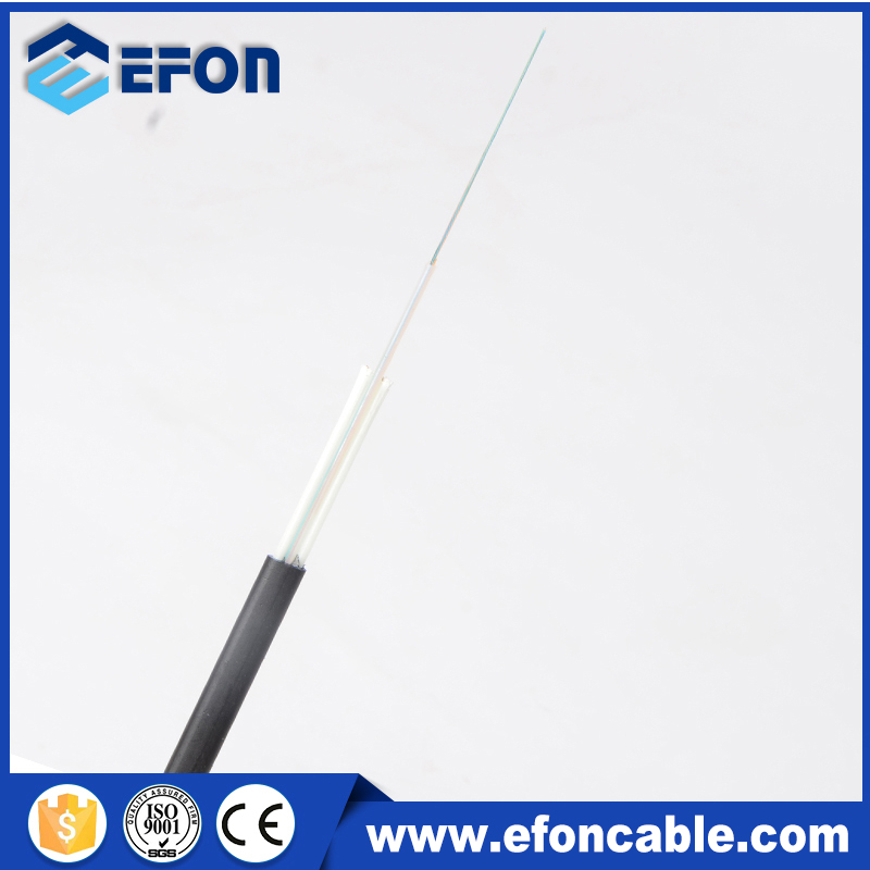Flat easy to install 8 12 24 core Fiber Optical Flat Cable