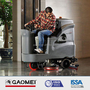 Ride on floor scrubber dryer GM110BT70 floor washing machine