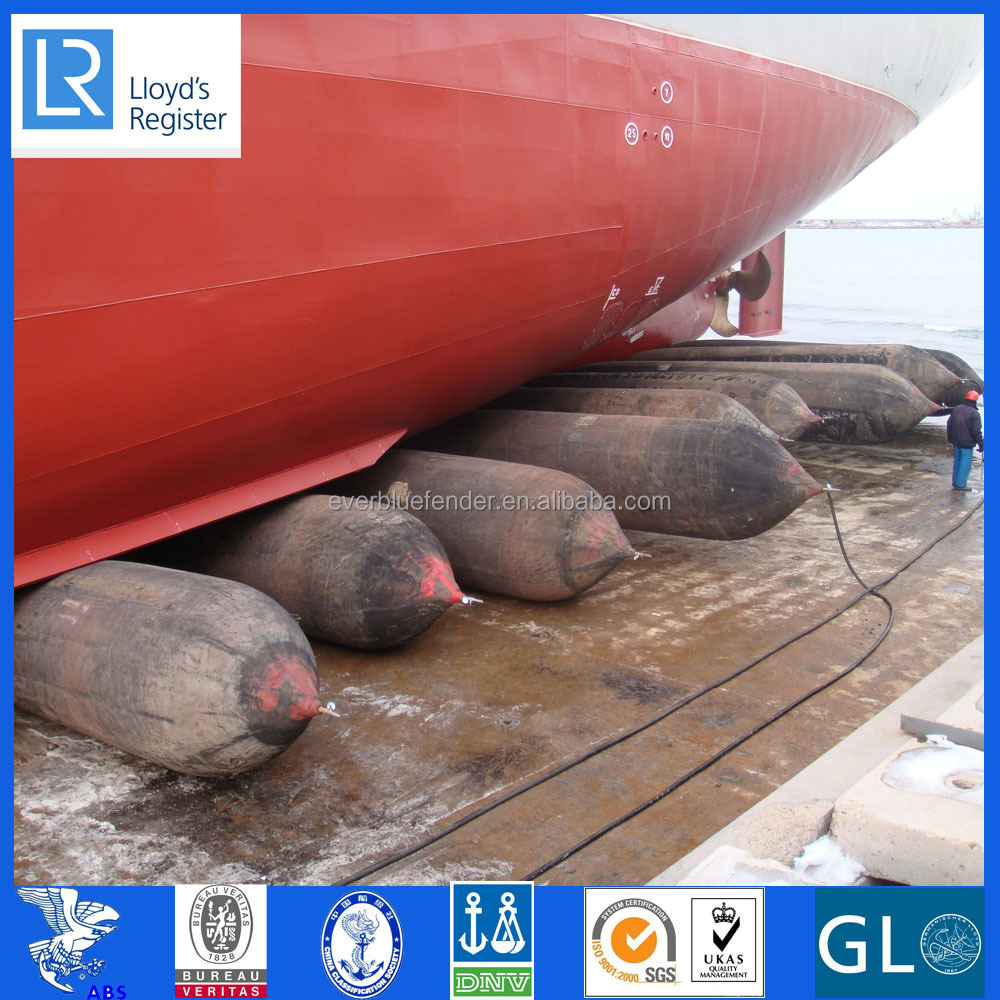 Ship Launching/Landing/Lifting/Salvage Marine Airbag for Floating Boat Lift