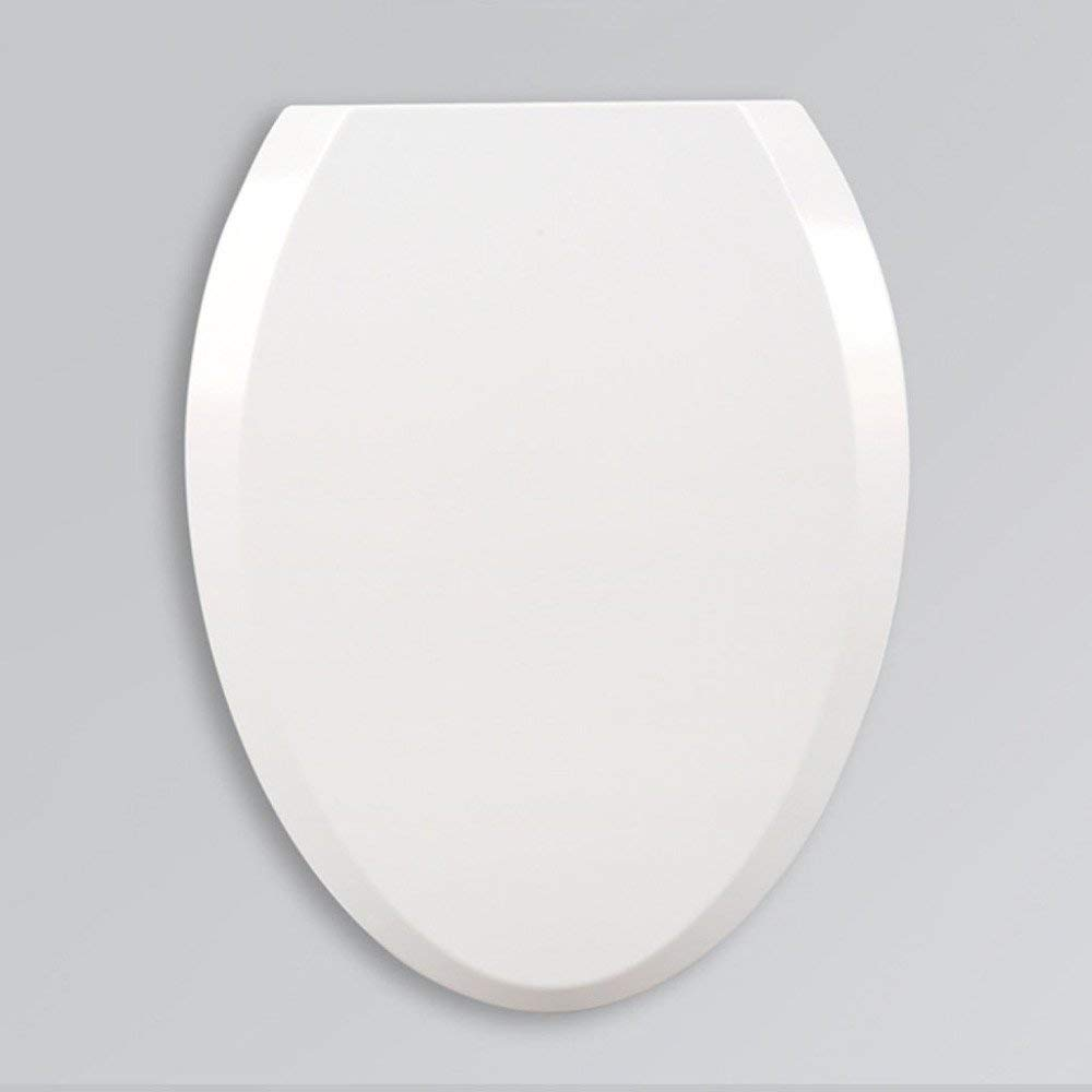 Toilet Seat Universal Type V Urea Vintage Slow Down Accessories,White-4636cm