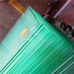 organic milky laminated glass 3mm