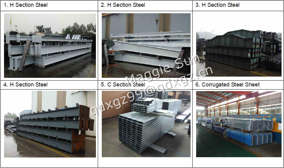 H-Steel Structure Steel Building Warehouse Material