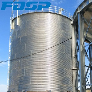 Easy operation 1-8000T corn silo wheat flour silo grain feed storage bins