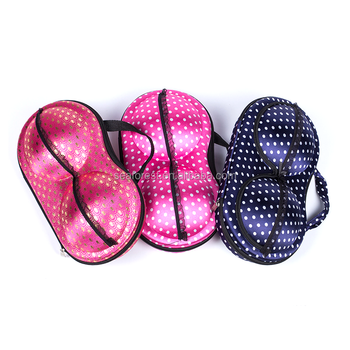 Travel Storage Bra Shaped Bag / Underwear Organizer Bra Panty Bag