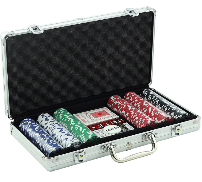 GIBBON Poker Chips Set1000pcspoker chip set di alluminio