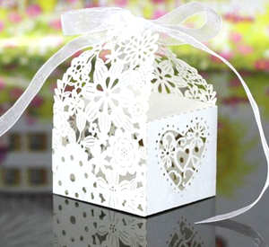 Foldable party favors gifts packing box sweets wedding candy box