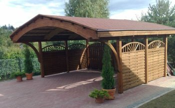 Wooden Carport Timber Garage Buy Modern Prefab Garage Product On Alibabacom