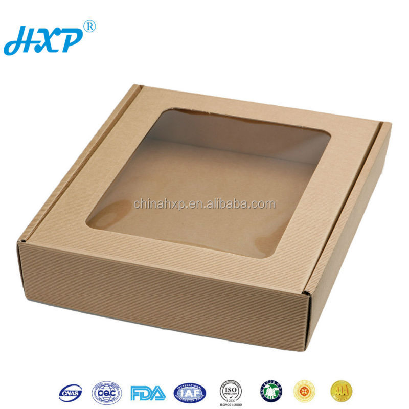 Wholesale Custom Kraft Paper Window Box Packaging