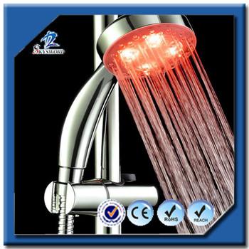 shower panel with led lights waterproof hidden shower head camera electric shower head