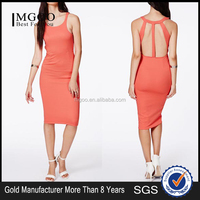 MGOO Custom Design Wholesale New York Modern Women Fashionable Dress Elegant Backless Bodycon Party Prom Dress 8153