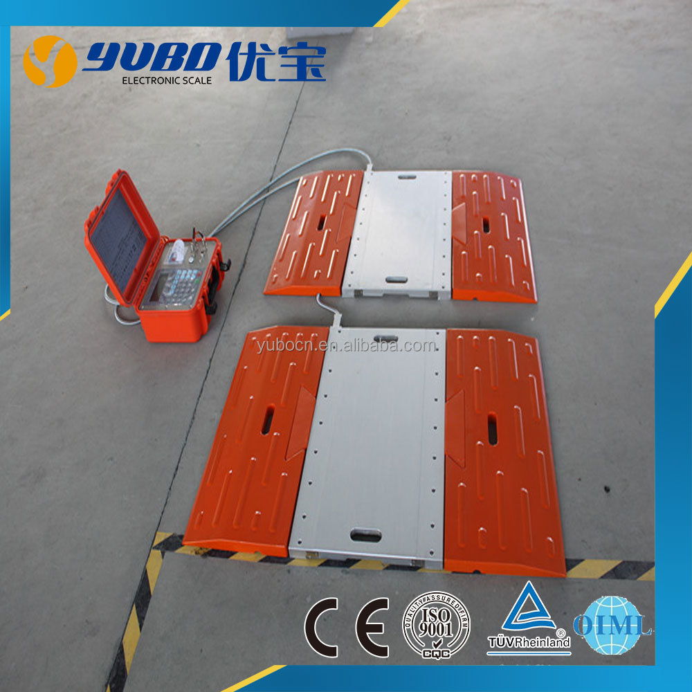 Portable car weighing scales / axle scale