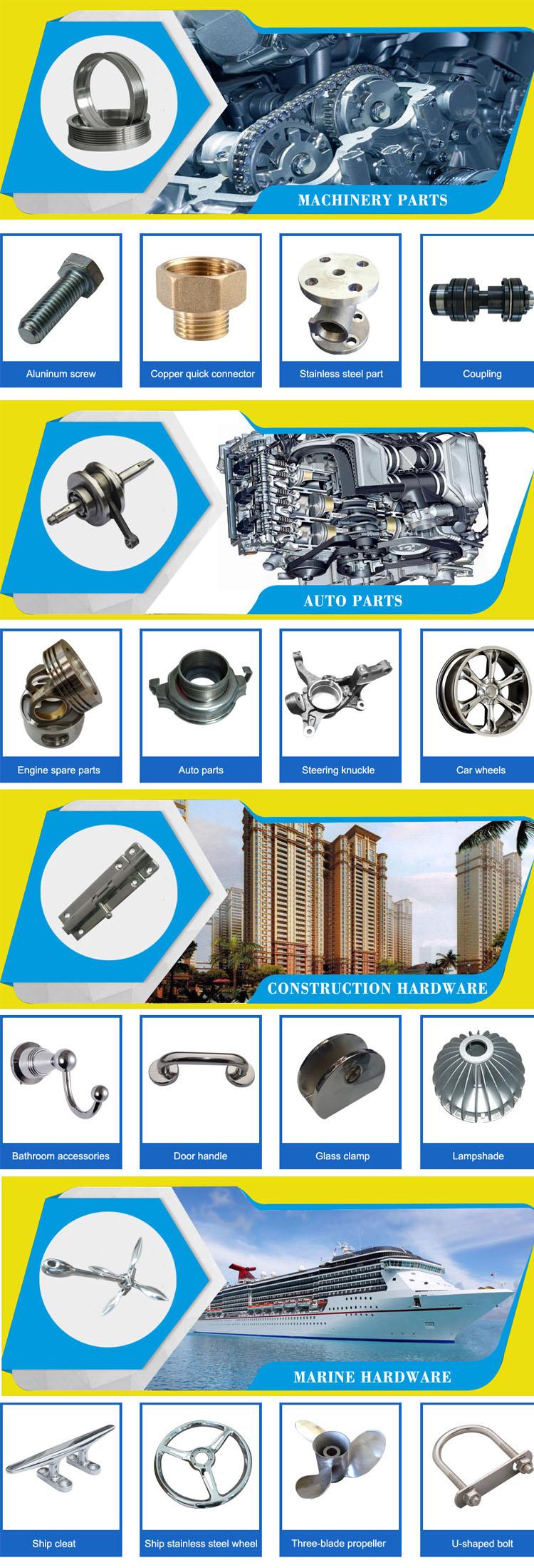 OEM Investering Cast Impeller