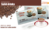 Food grade soft drink 3 in 1 instant coffee,good taste and best price