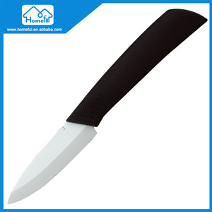 Peeling Ceramic Knife Blade Blank With White Blade