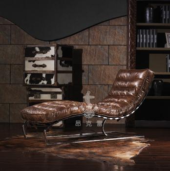 Bauhaus Look Stoelen.Steel Leather Oviedo Leather Chair K625