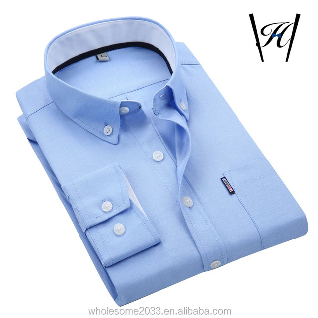 100%cotton wholesale button down Casual men`s shirt