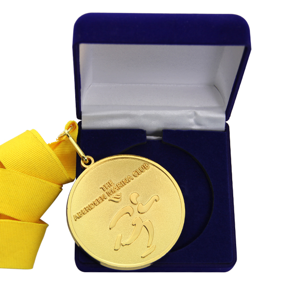 Customized velvet medal packaging boxes