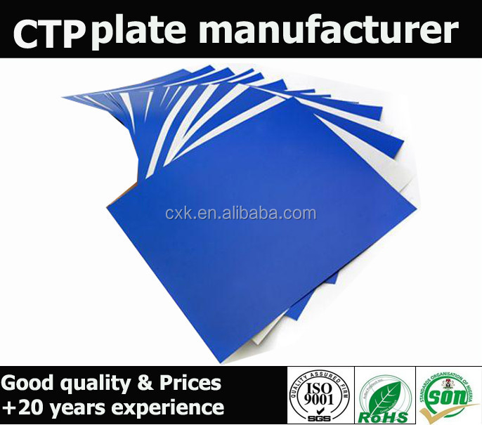 Speedy exposure thermal plate ctp