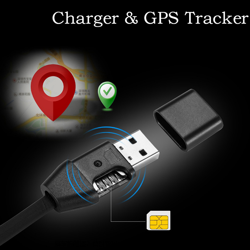 1pcs Car GPRS Tracker Vehicle Car Tracking Device Micro USB Cable Real Time GSM/GPRS Tracking