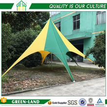 One Top Single Pole White Gazebo Star Tent Canopy With Pole