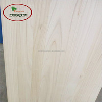 Thin paulownia laminate solid wood thin for crafts or red wine box