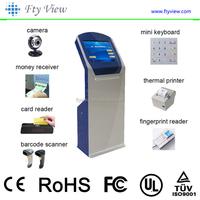 Touch Screen Self-service Terminal Kiosk/ Ticket Vending Machine Kiosk/bill payment machine