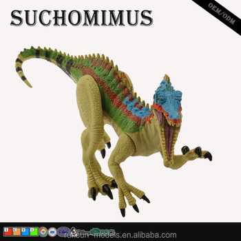 miniature dinosaur model limbs can move suchomimus resin craft custom action figure for collection