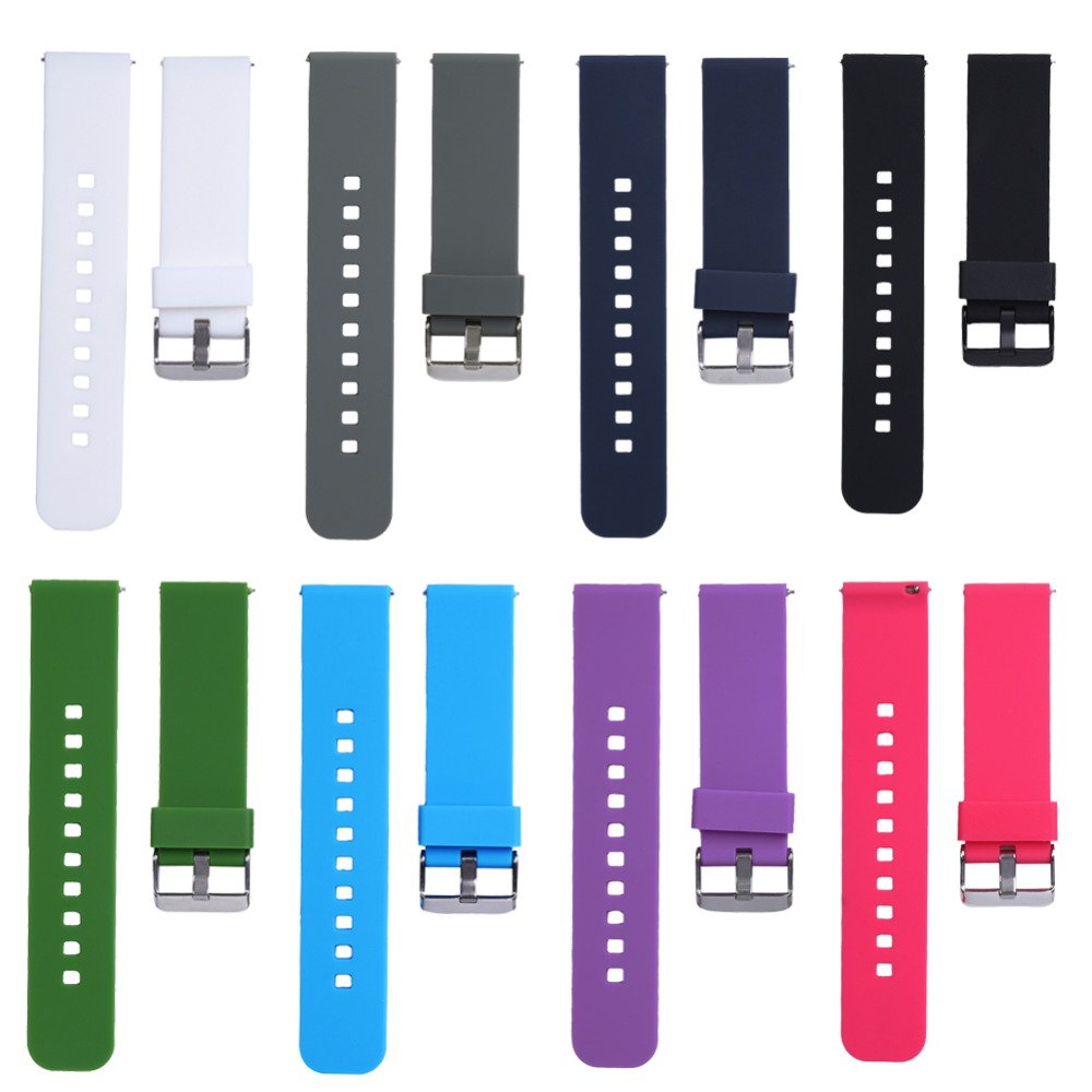 22mm Sports Silicone Watch Bands Strap for Samsung Galaxy Gear S3 Classic SM-R770 S3 Frontier SM-R760 SM-R765 Smart Watch фото