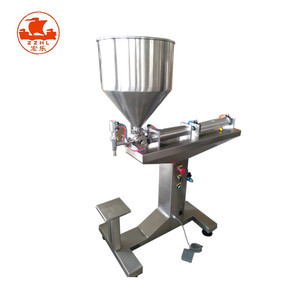 horizontal semi auto carpet herb shampoo filling machine