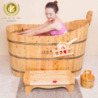 Wooden bathtub,wooden bath barrels,cedar wood spa tub