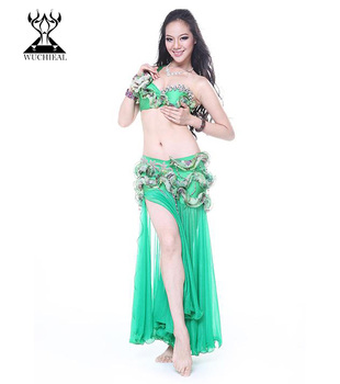 Qc Wuchieal Arabic Sexy Belly Dance Performance Costume
