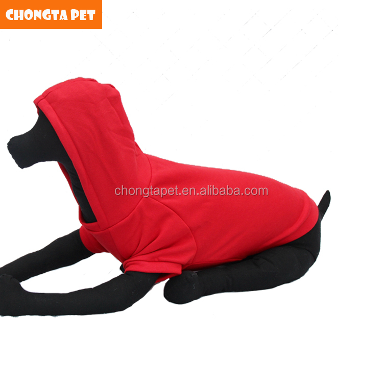 high quality blank dog hoodie oem large dog clothes