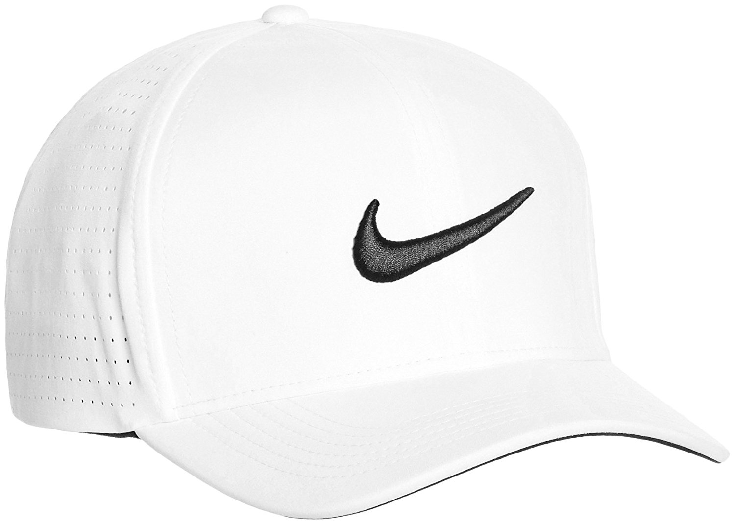 NIKE Golf Men s Classic 99 Pro Tour Perforated Dri-Fit Cap Flex-Fit Hat 3714a4a0ead