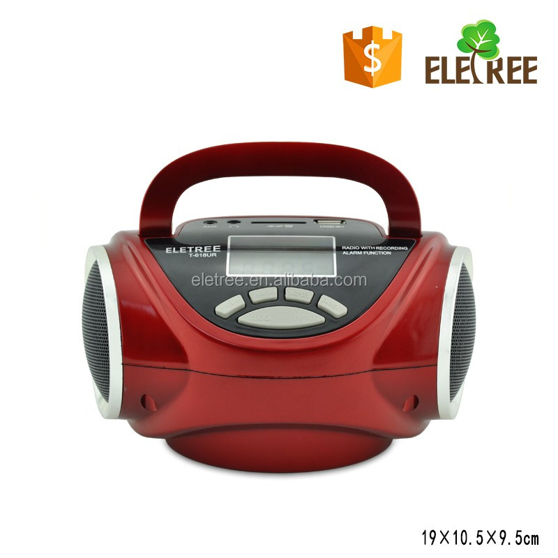small digital radio T-618UR hot sell fm radio station equipment with led screen for china best price