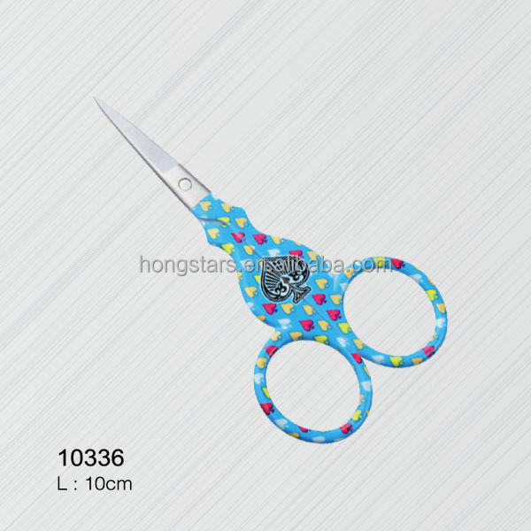 Meidao Hot sale colorful stainless steel thread cutting manicure scissors