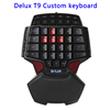 New Arrival LED Backlight Wired Mechanical Gaming Keyboard for Computer