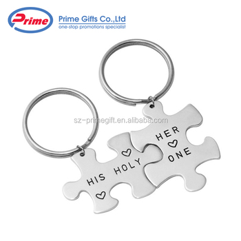 personalized metal puzzle design your own keychain buy puzzle