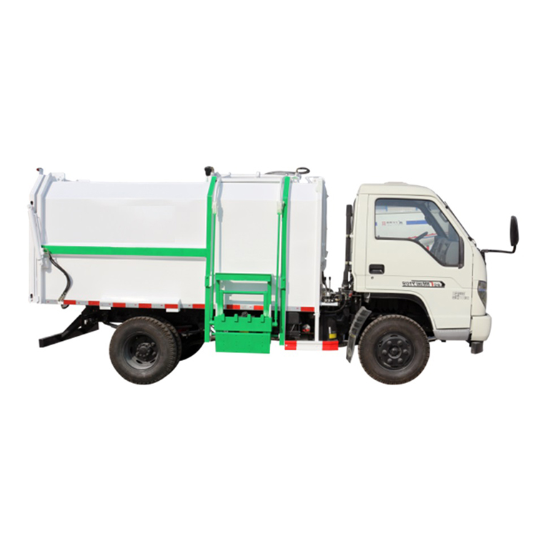 SEENWON Paid Service Top Design Small Mini Garbage Rubbish Van Transport Collector Truck