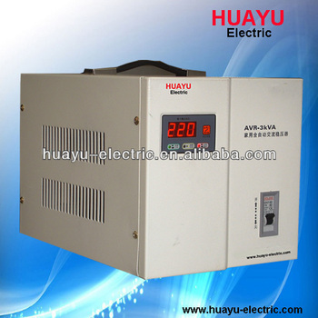 New Style Avr-3kva Full Automatic Relay Type Home Voltage ...