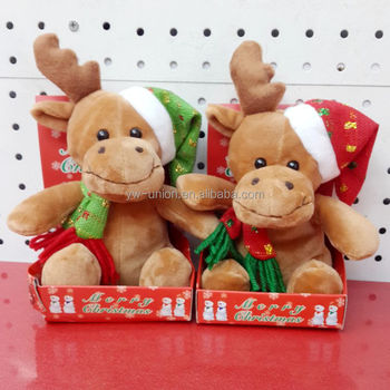 New cute reindeer christmas toys 2014