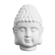 Wholesale popular handmade cheap mini head Buddha statue white Buddha mold for home decor