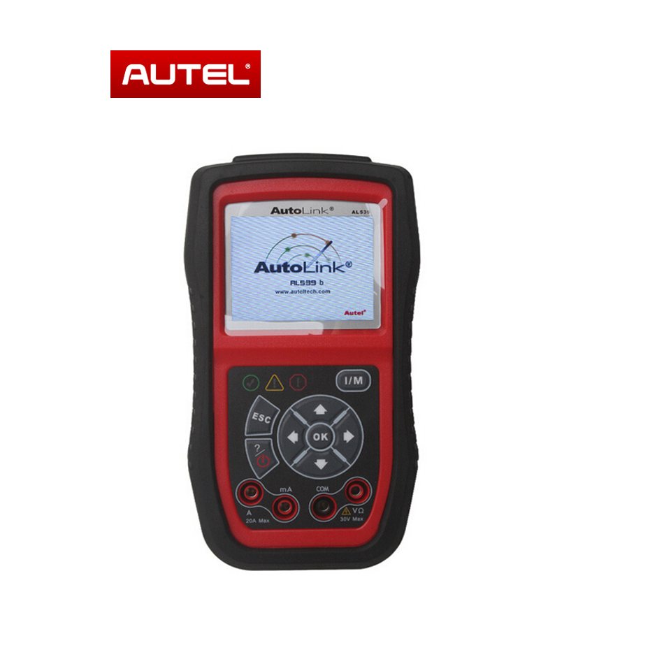 [AUTEL Distributor] Original Autel AL539B Auto Code Reader & Electrical System Battery Test Scanner Online Update Free Shipping