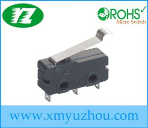 subminiature changeover switch