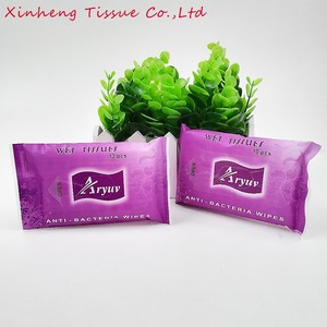 OEM High quality 10pcs anti bacteria wipes/ wet tissue