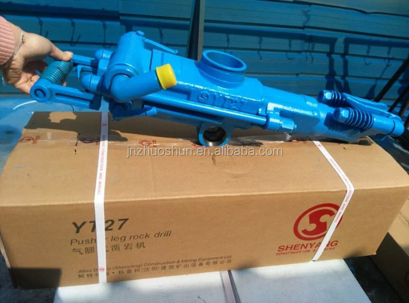 YT27 Powerful Pneumatic Rock Drill for Mining