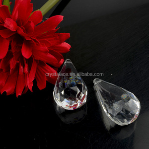 Acrylic Clear Ice Rock Diamond Chandelier Drops Acrylic Resin Rhinestone