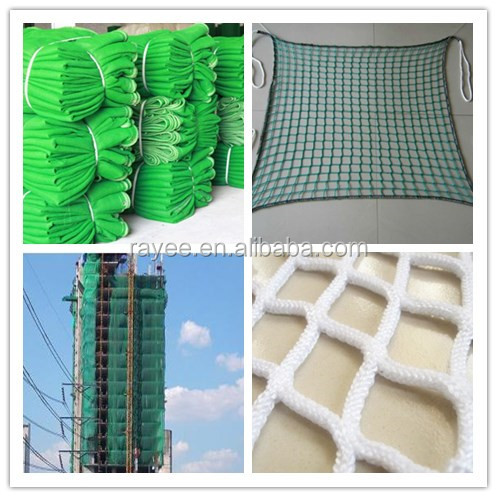 BS EN Standard Fall Protection Construction Scaffold Safety Net