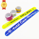 RSB01A Factory Price Wholesale Custom Bicycle Slap Bracelet Ruler,Reflective Slap Bracelet,Snap Bracelet